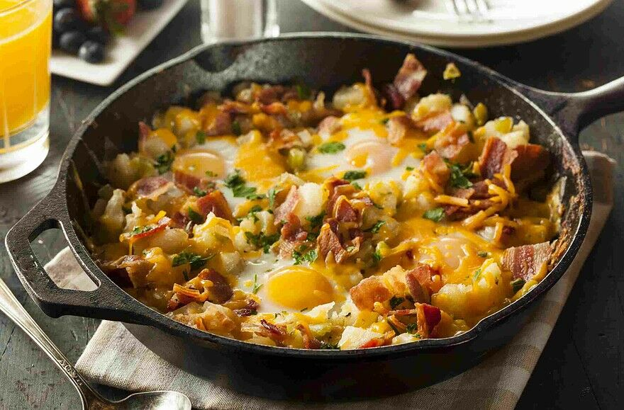 Dad's Country Breakfast Skillet